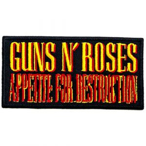 Guns N' Roses Standard Patch: Appetite For Destruction