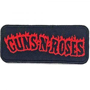 Guns N' Roses Standard Patch: Flames