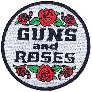 Guns N' Roses Standard Patch: Roses