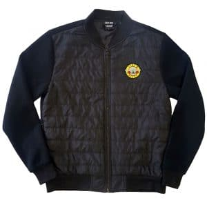 Guns N' Roses Mens Quilted Jacket: Classic Logo (XX-Large)