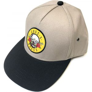 Guns N' Roses Unisex Snapback Cap: Circle Logo