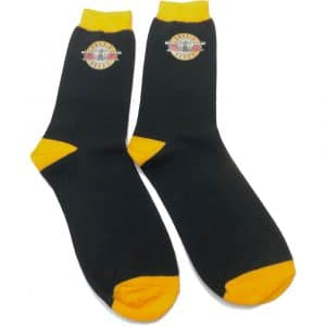 Guns N' Roses Unisex Ankle Socks: Circle Logo (UK Size 7 - 11)