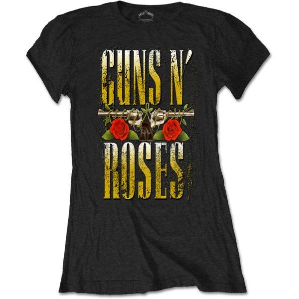 Guns N' Roses Ladies T-Shirt: Big Guns (XX-Large)