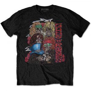 Guns N' Roses Mens T-Shirt: Stacked Skulls (XX-Large)