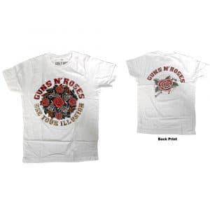 Guns N' Roses Mens T-Shirt: Use Your Illusion (Back Print) (X-Large)
