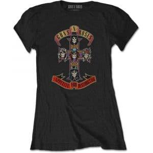 Guns N' Roses Ladies T-Shirt: Appetite for Destruction (Retail Pack) (XX-Large)