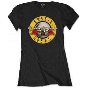 Guns N' Roses Ladies T-Shirt: Classic Logo (Retail Pack) (XX-Large)