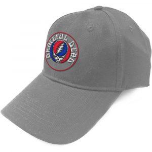 Grateful Dead Baseball Cap: Steal Your Face Logo