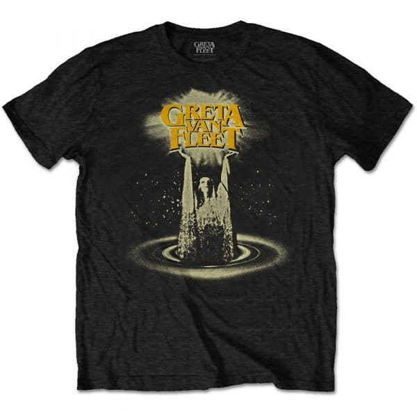 Greta Van Fleet Mens T-Shirt: Cinematic Lights (XXX-Large)