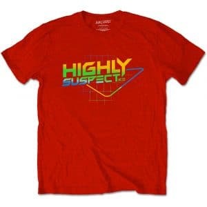 Highly Suspect Mens T-Shirt: Gradient Type (XX-Large)