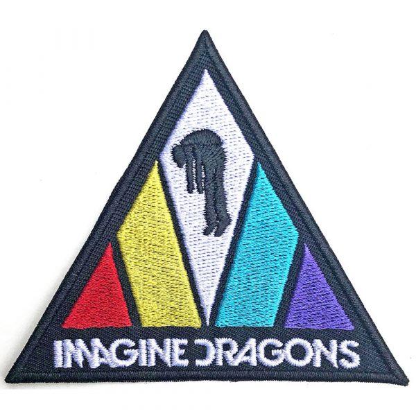 Imagine Dragons Standard Patch: Triangle Logo