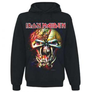 Iron Maiden Mens Pullover Hoodie: Final Frontier Big Head (XX-Large)