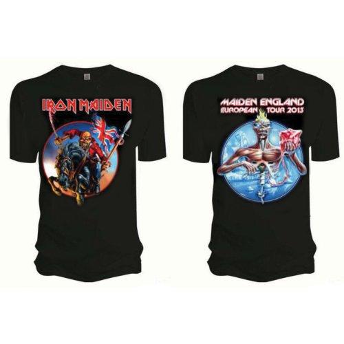 Iron Maiden Mens T-Shirt: Euro Tour (XX-Large)