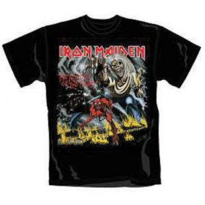 Iron Maiden Mens T-Shirt: Number of the Beast (XX-Large)