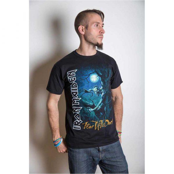 Iron Maiden Mens T-Shirt: Fear of the Dark Tree Sprite (XX-Large)