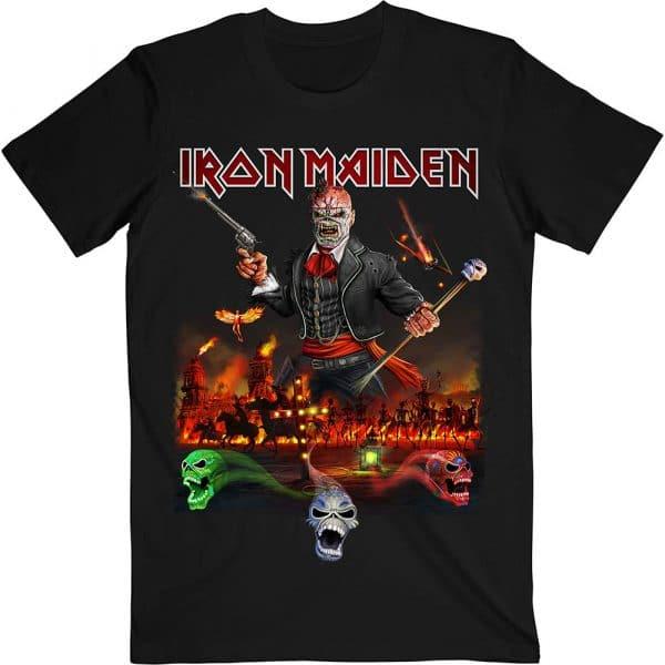 Iron Maiden Mens T-Shirt: Legacy of the Beast Live Album (XX-Large)