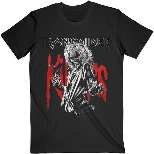 Iron Maiden Mens T-Shirt: Killers Eddie Large Graphic Distress (XX-Large)
