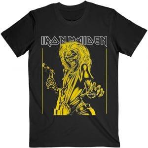 Iron Maiden Mens T-Shirt: Yellow Flyer (XX-Large)