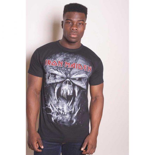 Iron Maiden Mens T-Shirt: Final Frontier Eddie Vintage (XX-Large)