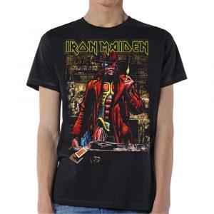Iron Maiden Mens T-Shirt: Stranger Sepia (XX-Large)