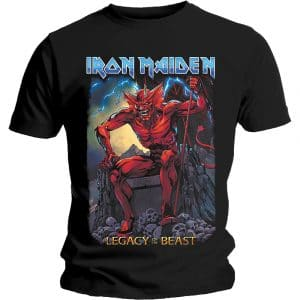 Iron Maiden Mens T-Shirt: Legacy of the Beast 2 Devil (XX-Large)