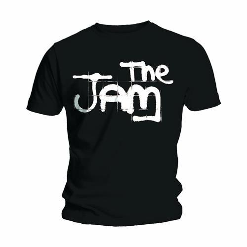 The Jam Mens T-Shirt: Spray Logo Black (XX-Large)