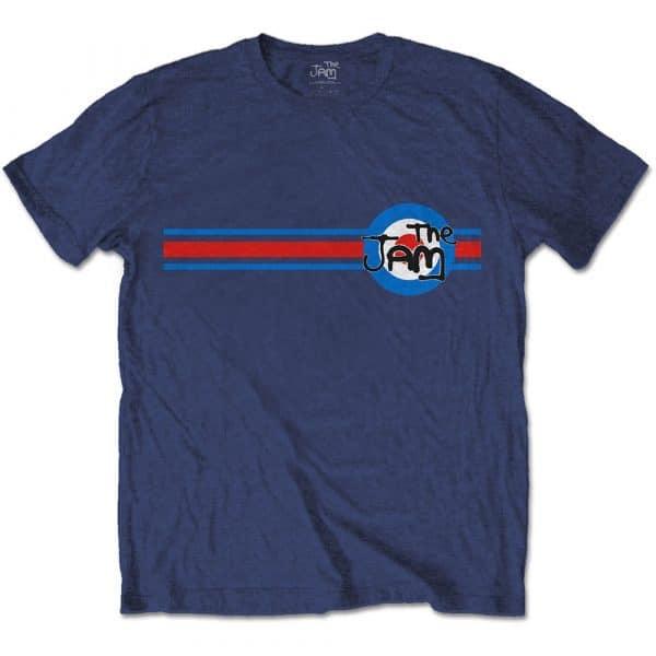 The Jam Mens T-Shirt: Target Stripe (XX-Large)
