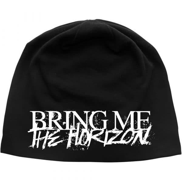 Bring Me The Horizon Unisex Beanie Hat: Horror Logo