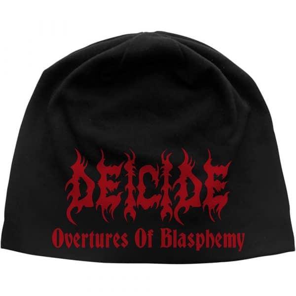 Deicide Unisex Beanie Hat: Overtures of Blasphemy