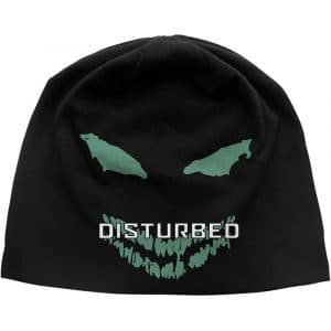 Disturbed Unisex Beanie Hat: Face