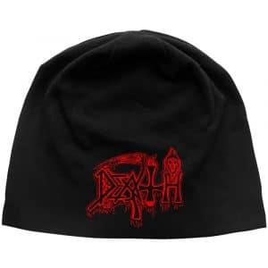 Death Unisex Beanie Hat: Logo