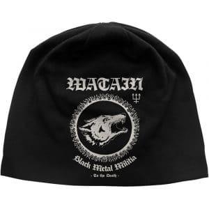 Watain Unisex Beanie Hat: Black Metal Militia