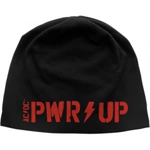 AC/DC Unisex Beanie Hat: PWR-UP