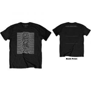 Joy Division Mens T-Shirt: Unknown Pleasures (Back Print) (XXX-Large)
