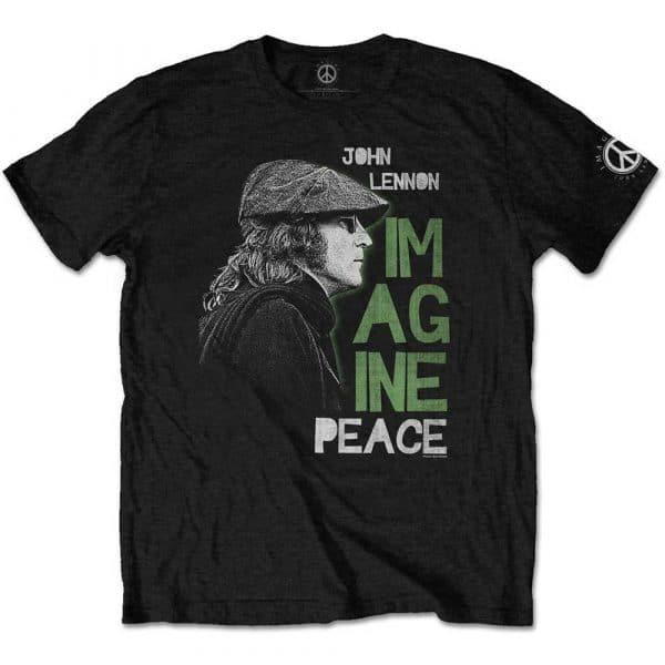 John Lennon Mens T-Shirt: Imagine Peace (XX-Large)