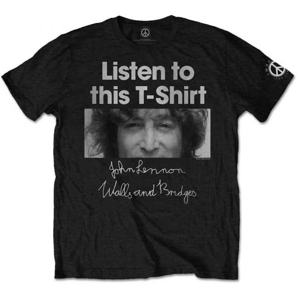 John Lennon Mens T-Shirt: Listen Lady (XX-Large)