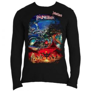 Judas Priest Mens Long Sleeved T-Shirt: Painkiller (XX-Large)