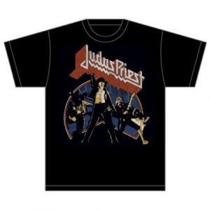 Judas Priest Mens T-Shirt: Unleashed Version 2 (XX-Large)