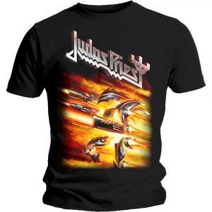 Judas Priest Mens T-Shirt: Firepower (XX-Large)