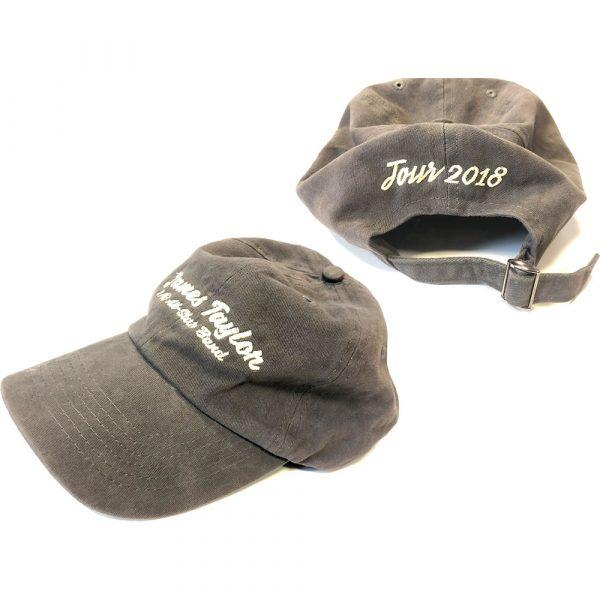 James Taylor Baseball Cap: 2018 Tour (Ex. Tour)