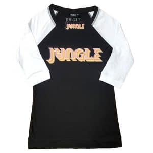 Jungle Ladies Raglan T-Shirt: Colour Logo (XXXX-Large)