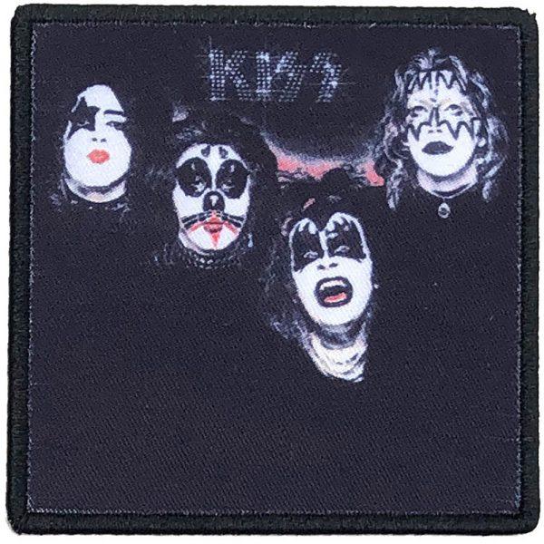 KISS Standard Patch: Kiss (Album Cover)