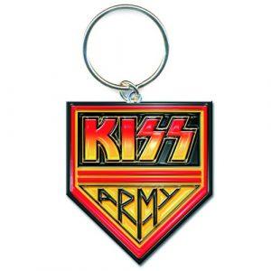 KISS Keyring: Army Pennant (Enamel In-fill)