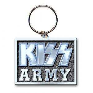 KISS Keyring: Army Block (Die-cast Relief)