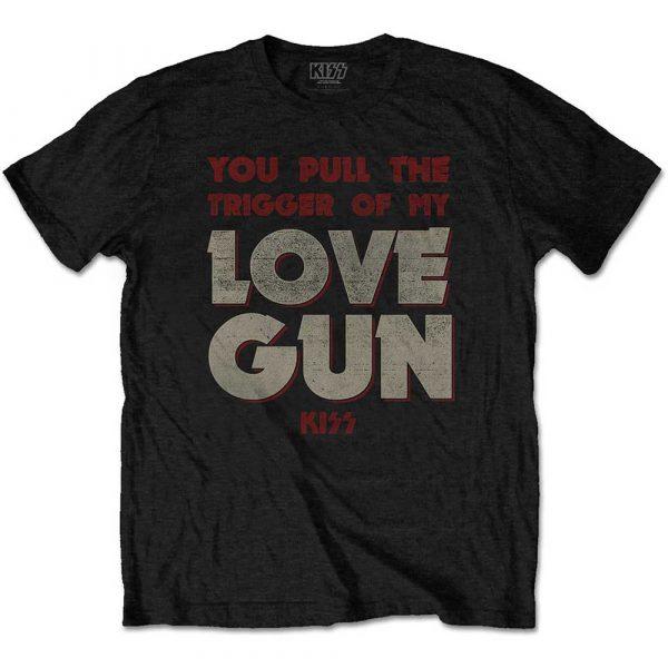 KISS Mens T-Shirt: Pull The Trigger (XX-Large)