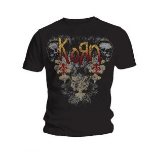 Korn Mens T-Shirt: Skulldelis (XX-Large)