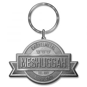 Meshuggah Keyring: Crest (Die-cast Relief)