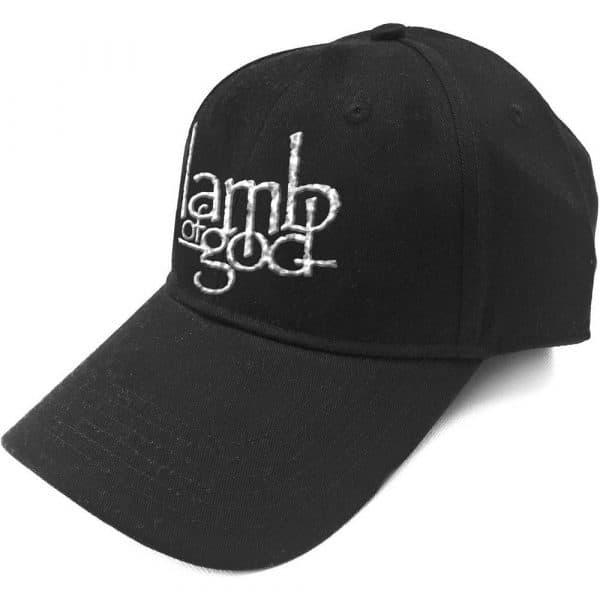 Lamb Of God Baseball Cap: Logo (Sonic Silver)
