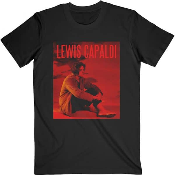 Lewis Capaldi Mens T-Shirt: Divinely Uninspired (XX-Large)