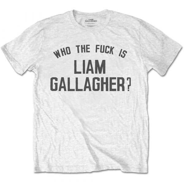 Liam Gallagher Mens T-Shirt: Who the Fuck… (XX-Large)